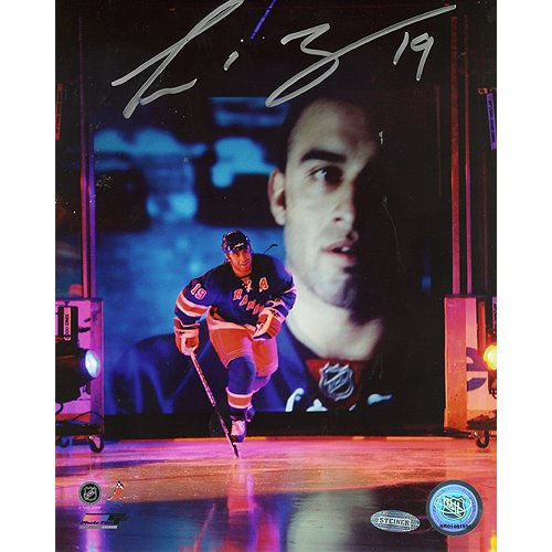(NHL New York Rangers Scott Gomez 2008 Opening Night Introduction Photograph, 6x20-Inch)