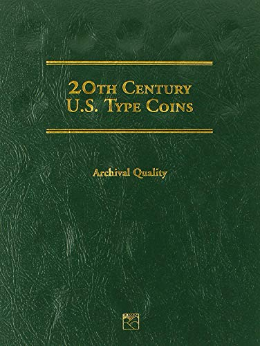 1900 Hard Cover 20th Century U.S. Type Coins 1900-1999 Littleton Folder # LCF27 Empty by Littleton Custom Coin Folder (1999-2013) Album