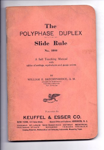 The Polyphase Duplex Slide Rule No. 4088 ()