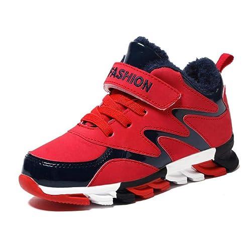 0c58b95fa6b Zapatos Deportivos para NiñOs Zapatillas De Deporte para NiñOs  Transpirables Resistentes Al Desgaste Calzados Informales A Prueba De  Golpes Zapatos para ...