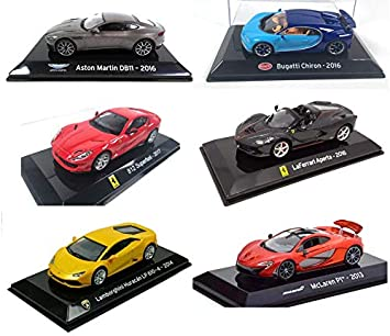 Lot de 6 Voitures Supercars : Compatible avec Aston Martin Ford Mercedes SL15 DAUER // Ixo 1//43 OPO 10 Dodge