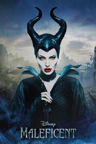 Maleficent - Movie Poster / Print (Regular Style 2 / Angelina Jolie) (Size: 24