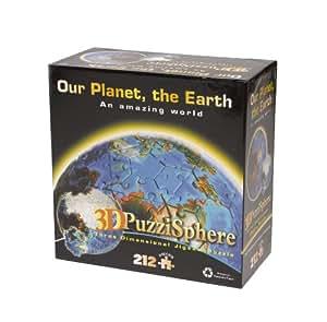 Funtime Gifts BV5480 - Puzzle en 3D del globo terráqueo (212 piezas)