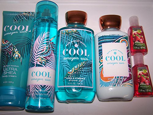 6-piece-bath-body-works-cool-amazon-rain-fragrance-gift-set-body-lotion-fragrance-mist-shower-gel-bo