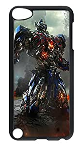 iPod 5 Cases, Hot Sale Personalized Transformers Optimus Prime Movie Ideas Protective Hard PC Plastic Black Edge Case Cover for Apple iPod Touch 5 5th Generation