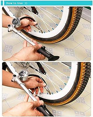 KuaiKeSport Bomba Bicicletas,Bomba de Inflador de Suministro de ...
