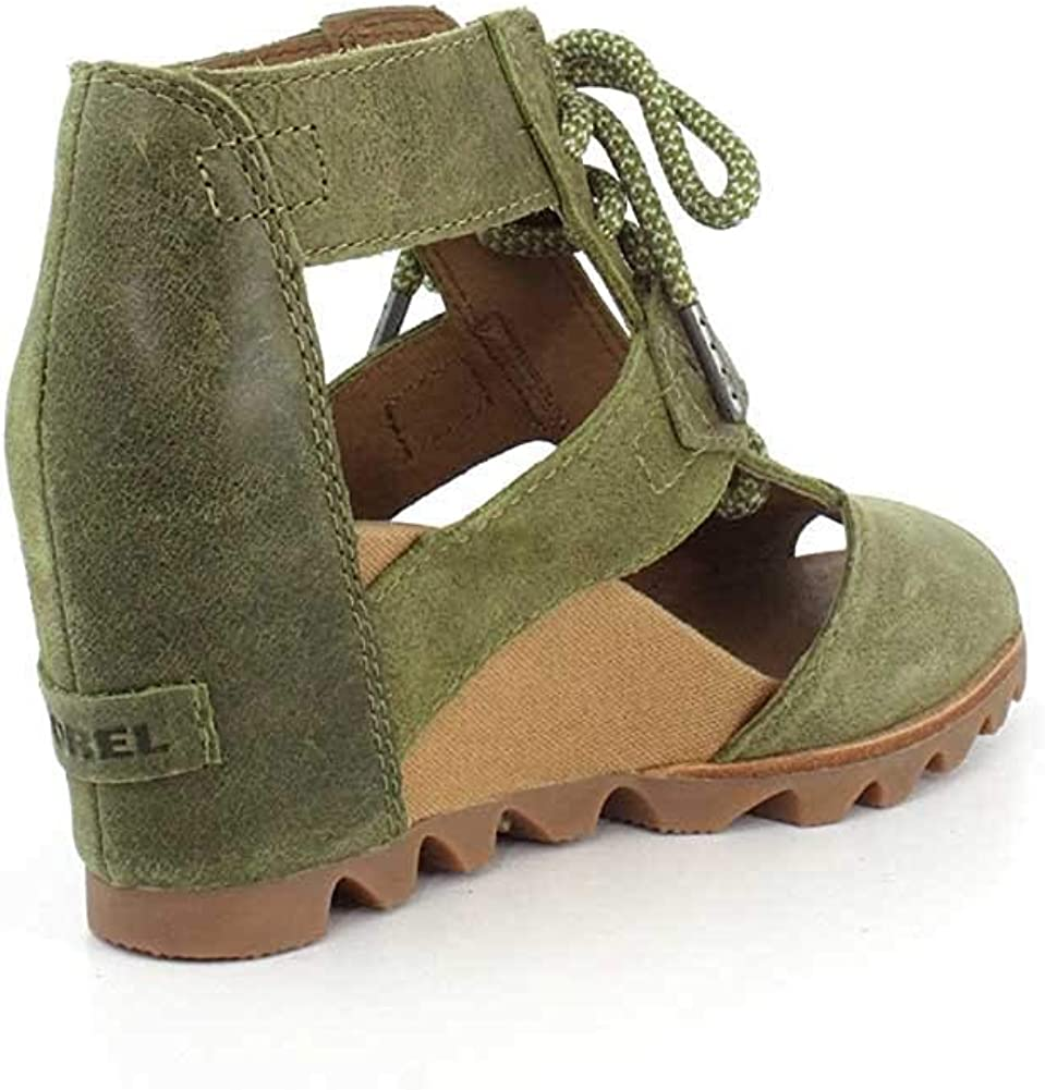 Sorel Womens Joanie Lace Suede Shoes Olive Drab B0tcWJlQ