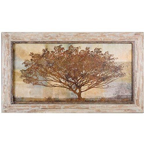 Reproduction Uttermost Oil (Uttermost 51100 Autumn Radiance Sepia Framed Art)