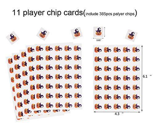 miss fantasy halloween bingo game for kids halloween party games classroom activities for 24 players