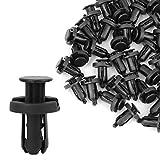99 honda accord fender - uxcell a15070100ux0321 50Pcs 10mm Plastic Rivet Retainer Bumper Pin Fender Clips, 50 Pack