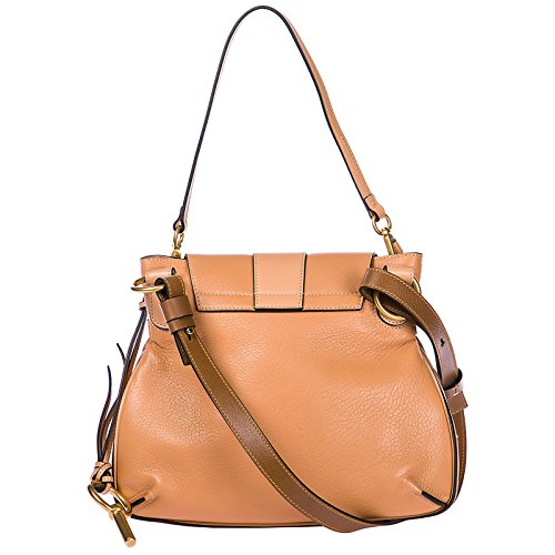 para asas rosa piel mujer Chlo bolsos con largas nuevo compras en pPwpnUAI