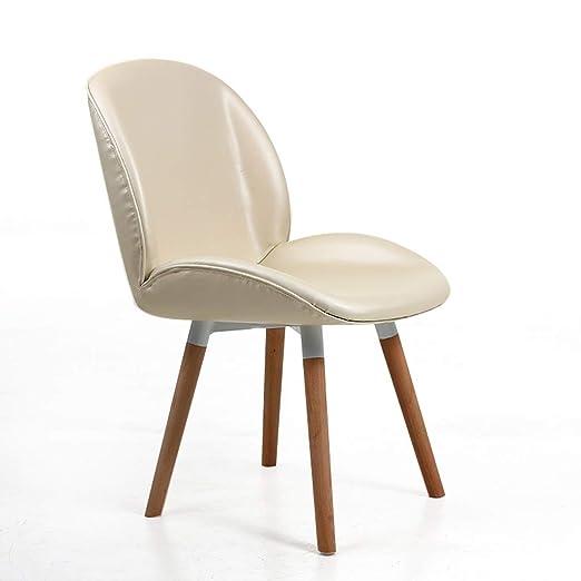 OHGQY Concha de oro silla de comedor silla de escritorio silla ...