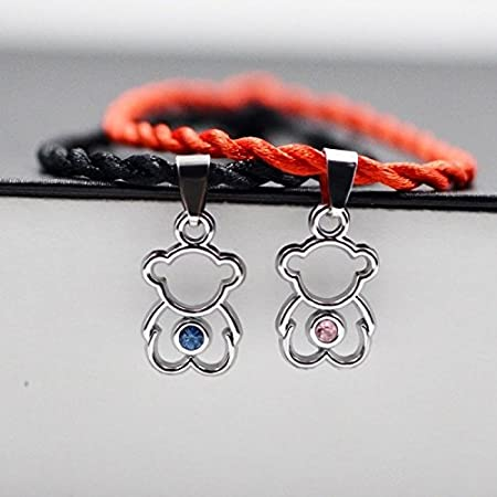 unique women gift students love couple lover bracelet bangle one pair retro trend men women hand red string hand rope ([1314] keylock one pair SOFJTA
