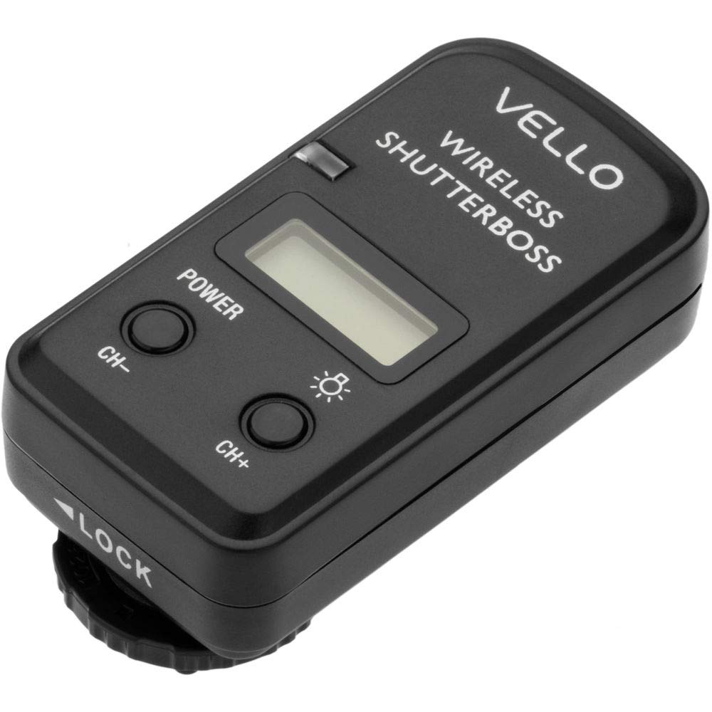 Vello Wireless ShutterBoss III Remote Switch with Digital Timer for Select Sony Cameras by VELLO (Image #4)