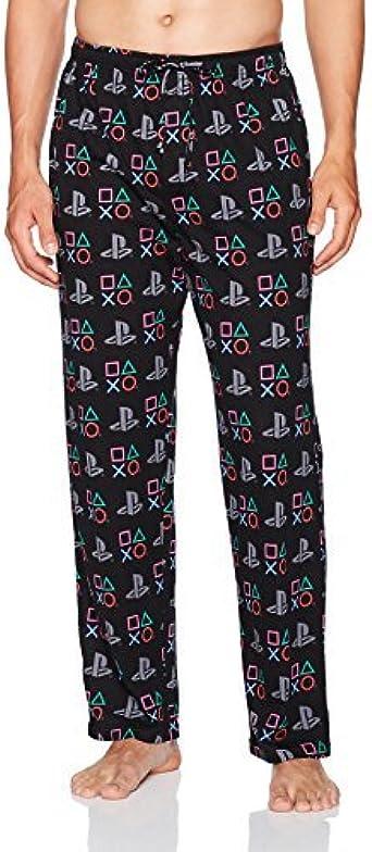 Amazon Com Nintendo Men S Playstation Pijama Para Hombre Xxl Negro Clothing