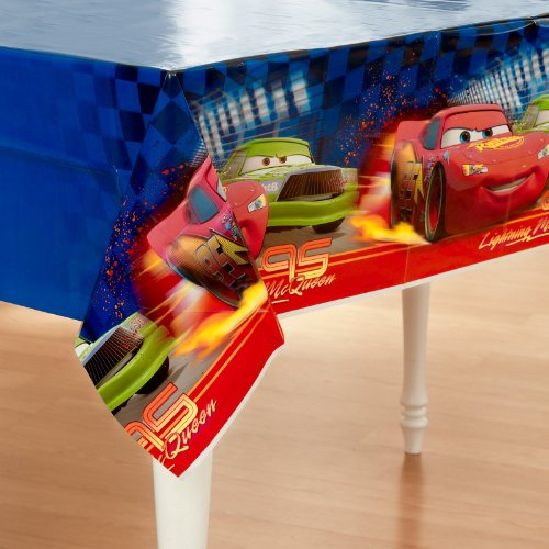 Disney Cars Plastic Tablecover -