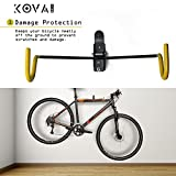 Kova Gear Bike Hanger with Double Folding Hooks - Bicycle Storage Made Easy