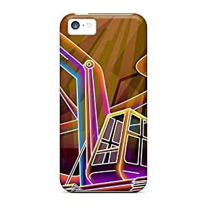 New Iphone 5c Cases Covers Casing(3d Neon Colorful 34)