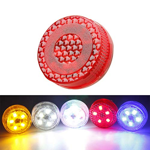 Magnetic 5 LED Car Door Opening Warning Lights 2pcs Waterproof Flashing Safety