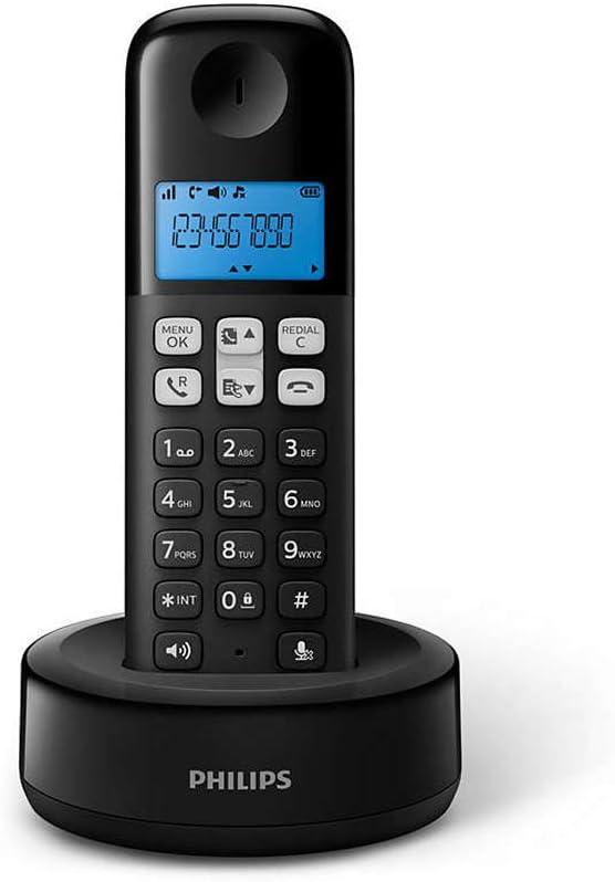 Teléfono inalámbrico philips d1311/90 Color Negro.