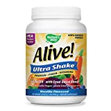 natures fruit colon support - Nature's Way Alive! Pea Protein Shake, Includes Vitamins, Fiber and Food-Based Blends (1,150mg per serving), Vanilla Flavor, 26 Servings