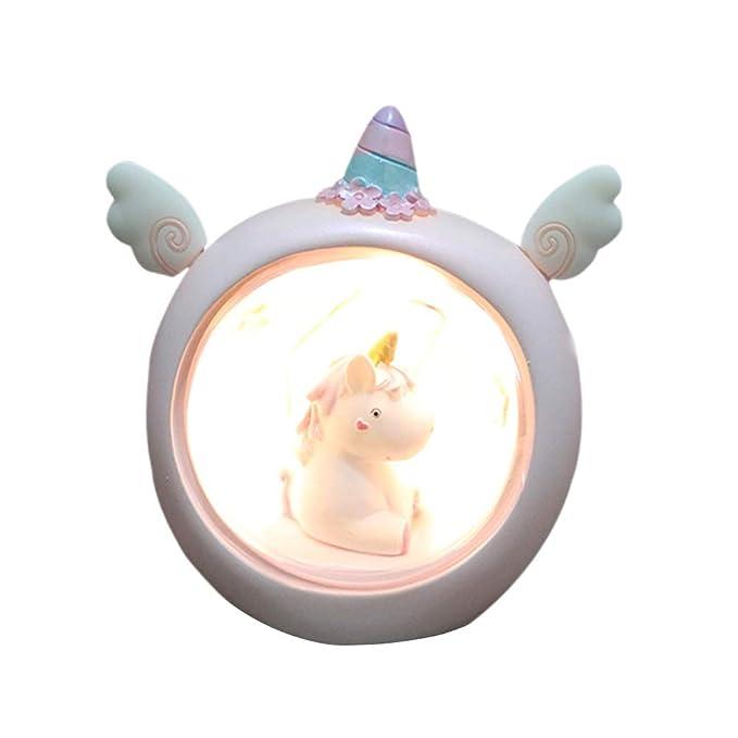 Lámpara Redoda de Unicornio