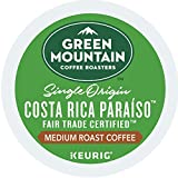 Green Mountain Coffee Roasters Costa Rica Paraiso Keurig Single-serve K-cup Pods, Medium Roast Coffee, 72 Count (6 Boxes of 12 Pods)