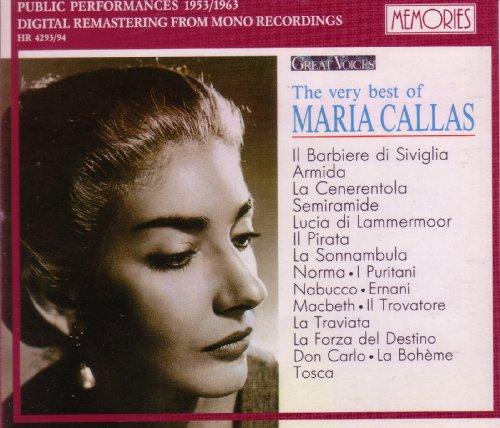 The Very Best of Maria Callas - Public Performances 1953/1963