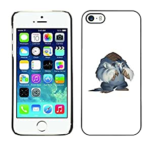 All Phone Most Case / Oferta Especial Duro Teléfono Inteligente PC Cáscara Funda Cubierta de proteccion Caso / Hard Case iPhone 5 / 5S // Snow Yeti