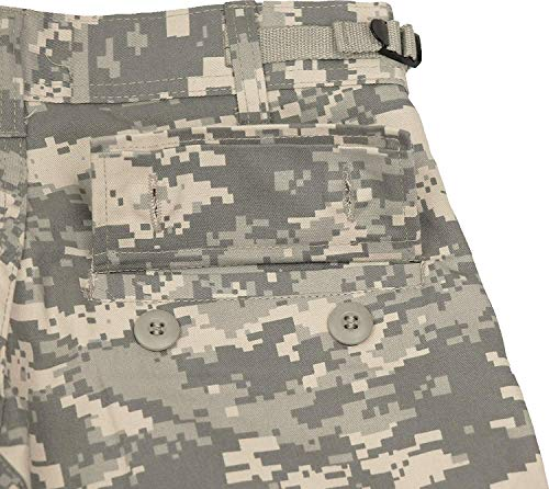 Army Universe Mens ACU Digital Camouflage Military BDU Cargo Pants with Pin  (W 31- 2acd53a4031