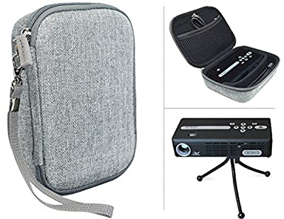 Carrying Bag for Sony Portable HD Mobile, Video Projtector, AAXA LED, AAXA P2 Jr, P3-X, P4-X LED, Celluon Pico Pro, iCODIS G1 Mobile, ELEGIANT Mini and Optoma LED Projector