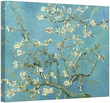 Vincent Van Gogh Almond Blossom Canvas Art Print Poster
