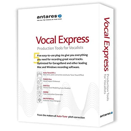 Amazon com: Antares Vocal Express Voice-Production Tools