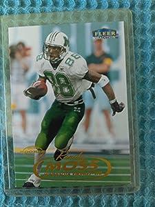 Randy Moss - 1998 Fleer Traditions #237 ROOKIE - Minnesota Vikings / New England Patriots / Marshall - Future HOFer