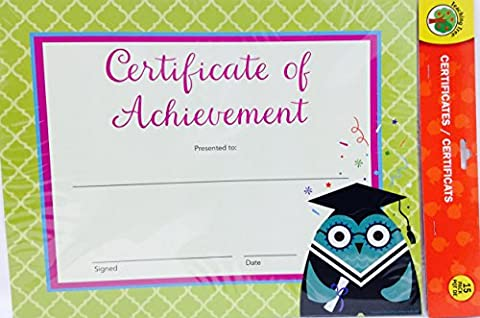 Back to School Toddler Pre-school Elementary School Classroom Teaching Tree Student Award Certificate Award Certificate of (Elsa Palace Throw)