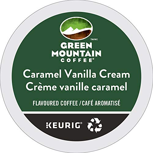 (Green Mountain Coffee Caramel Vanilla Cream, K-Cup Portion Count for Keurig K-Cup Brewers, 24-Count)