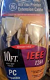GE HO-97865 IEEE 1284 Printer Extension Cable