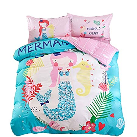 51Cs2KGvLfL._SS450_ Mermaid Bedding Sets and Mermaid Comforter Sets