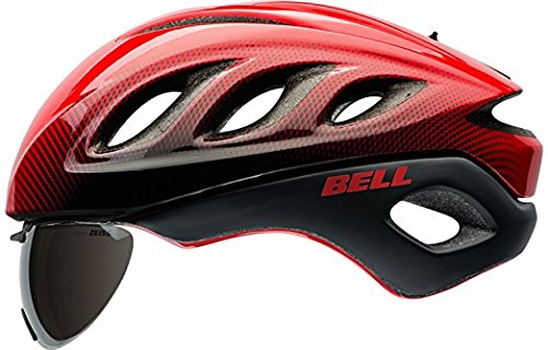 Bell Star Pro Shield Helmet - Red/Black Blur Large