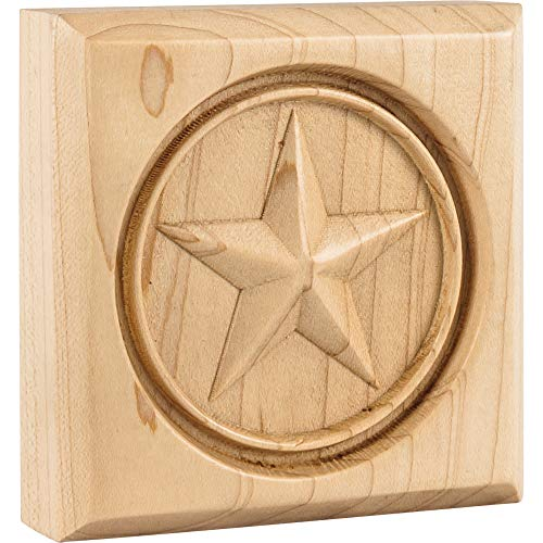 (Hardware Resources Star Rosette 3-1/2