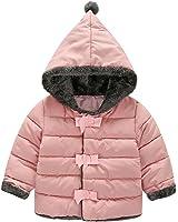 YOUJIA Inverno Imbottitura Spessa Principessa Outwear della peluche Cappotti Giacche con Cappuccio - Bambine e ragazze