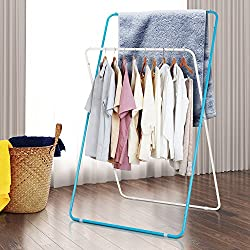 Lifewit Foldable Clothes Dryer Folding Collapsible Garment Rack Hanger Indoor and Outdoor Laundry Drying Rack for Blanket Sheet Towel