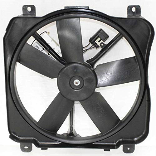 Radiator Cooling Fan For 86-99 Buick LeSabre 91-96 Park Avenue Left - Fan Avenue Buick Park