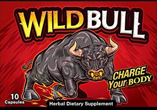 WILD BULL All Natural Amplifier 10 Capsules from The Makers of Schwinnng Exclusively by Naturopathic Solutions LLC