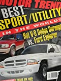 1998 Dodge Durango vs. Ford Explorer / 1998 Lexus GS 400 / 1999 Saab 9-5 / 1998 Dodge Intrepid / 1997 Chevrolet Chevy Lumina vs. Monte Carlo Road Test