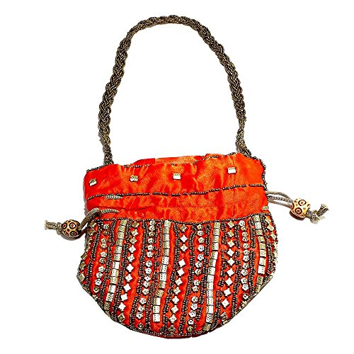 Price comparison product image Indian Handmade Embroidered Indian Bags Mobile Pouchs Bags Money Purses B 98