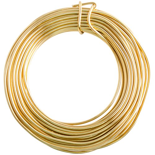 12 Gauge Gold Enameled Aluminum Wire - 40ft