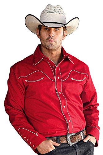 Stars & Stripes Herren Westernhemd »JACK« Rot (XL)