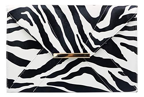 Classic Zebra - women pocket purse,zebra print stylish classic original fashion design with hand strap handbag purse shoulder clutches for women