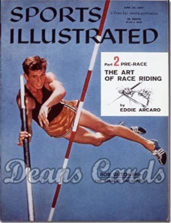 Amazon.com: Sports Illustrated - With Label June 24 1957 ...